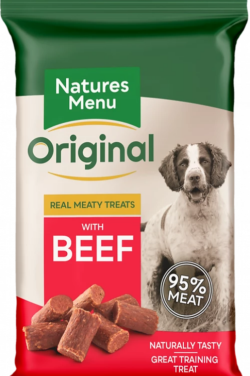 Natures Menu Real Meaty Treats with Beef