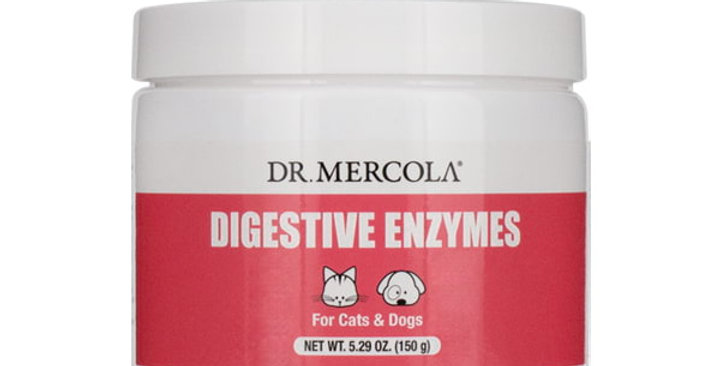 Dr Mercola - Digestive Enzymes for Cats & Dogs