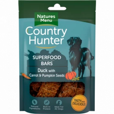 Country Hunter Superfood Bars (Duck)