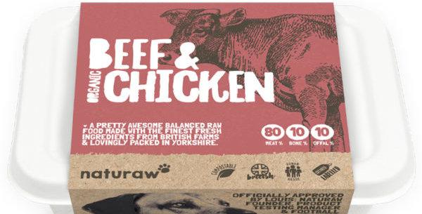 Naturaw - Beef & Chicken (organic)