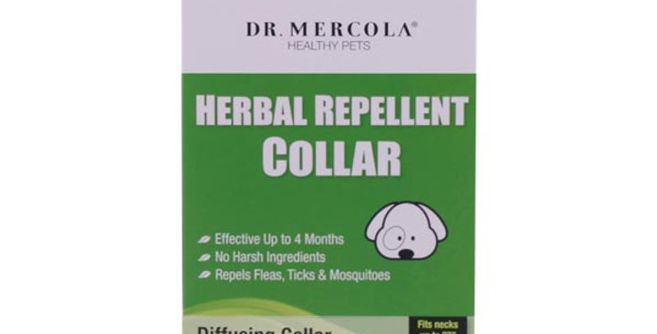 Dr Mercola - Herbal Repellent Collar For Large Dogs