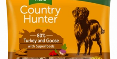 COUNTRY HUNTER RAW NUGGETS  TURKEY AND GOOSE