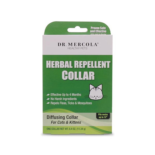 Dr Mercola - Herbal Repellent Collar For Cats & Kittens