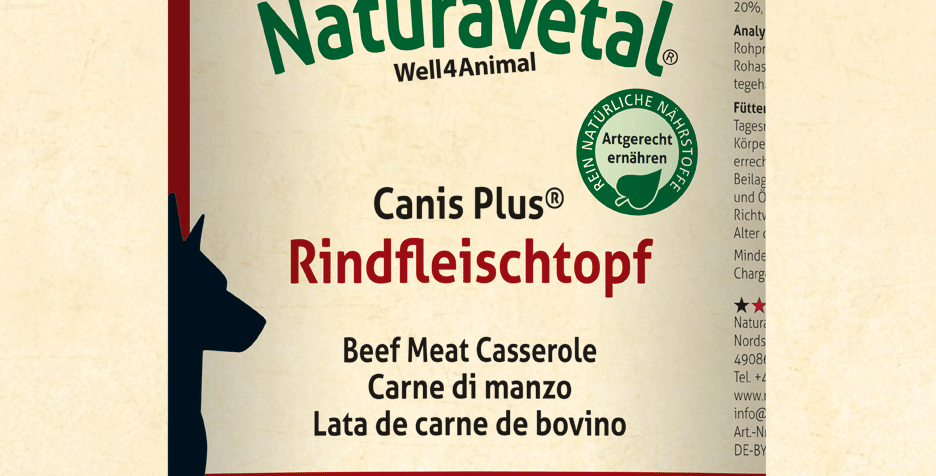 Canis Plus® Beef Pot