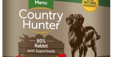 COUNTRY HUNTER CANS  RABBIT WITH SUPERFOODS