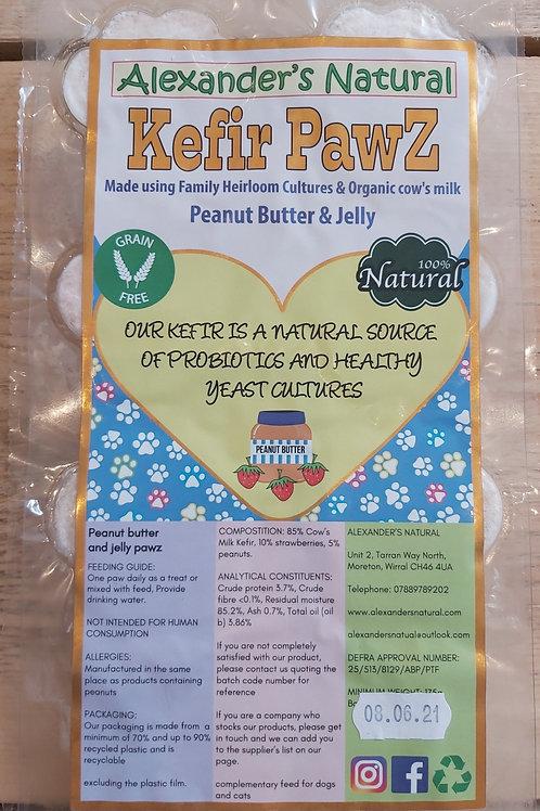 Alexander Naturals Kefir Pawz - Peanut Butter & Jelly