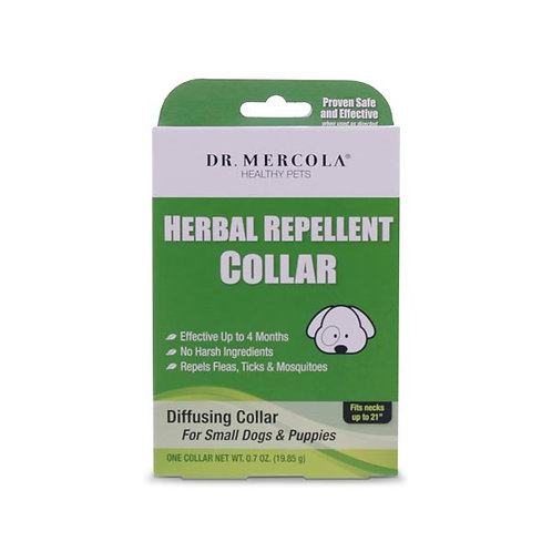 Dr Mercola - Herbal Repellent Collar For Small Dogs & Puppies
