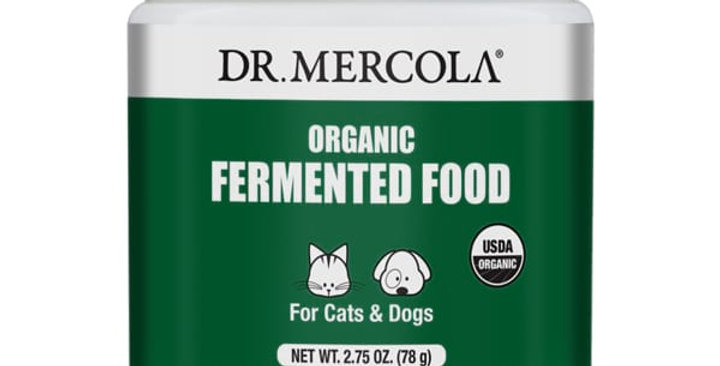 Dr Mercola - Organic Fermented Food for Cats & Dogs
