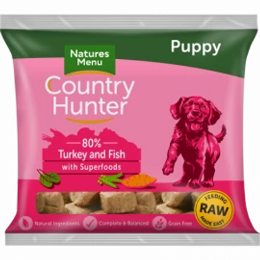 COUNTRY HUNTER RAW NUGGETS  PUPPY NUGGETS