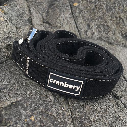 Cranbery - Hemp Lead 4ft (Noir Black)