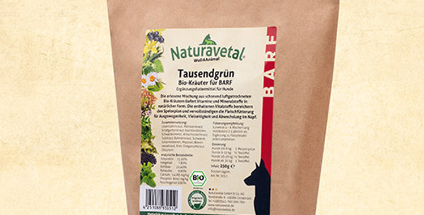 Canis Extra Organic Herbs for BARF