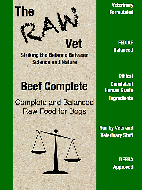 The Raw Vet - Beef Complete