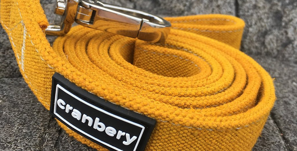 Cranbery - Hemp Lead 4ft (Shingo Yellow)