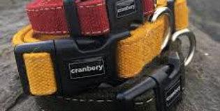 Cranbery - Hemp Collar Large (40cm-67cm) Brown