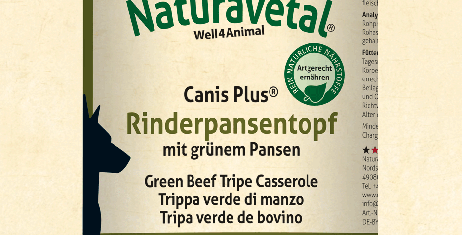 Canis Plus® Beef Tripe Pot