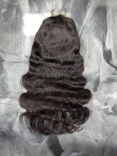 Closure lace wig
