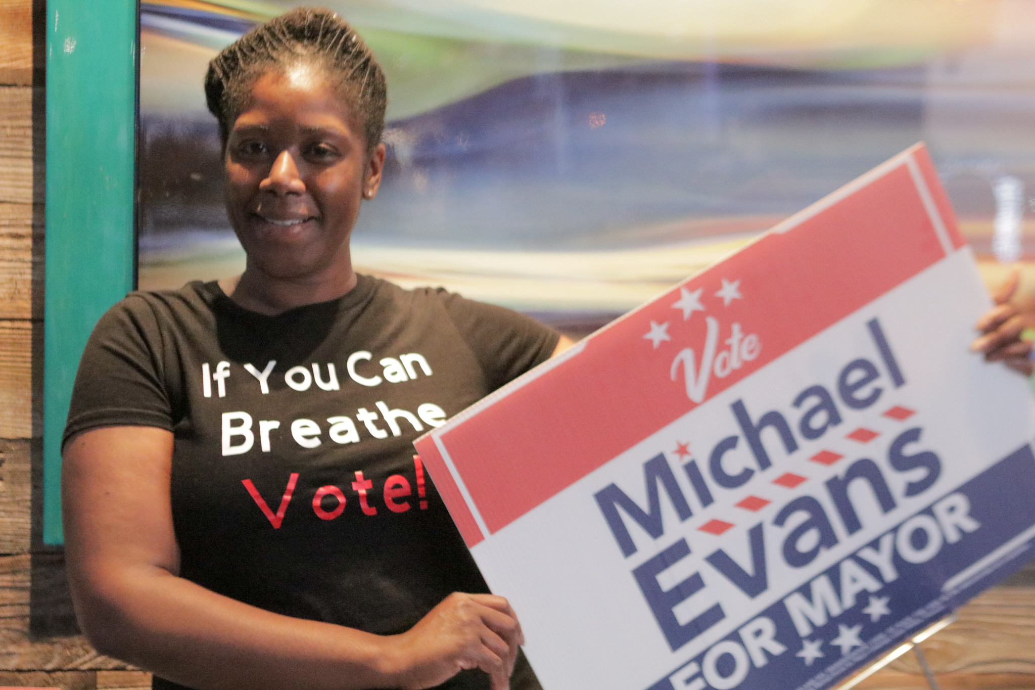 Michael Evans for Mansfield Mayor El Pri