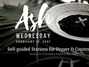 Ash Wednesday Prayer Stations!