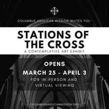 Stations of the Cross Contemplative Art Exhibit