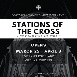 Stations of the Cross Contemplative Art Exhibit