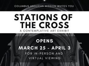 Stations of the Cross Art Exhibit
