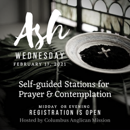 Ash Wednesday Prayer Stations