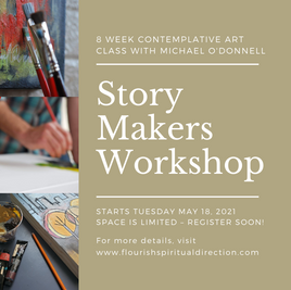 Story Makers Workshop with Artist Michael O'Donnell