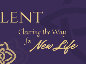 Lent: Clearing the Way
