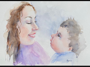 Advent Week 2: JOY (A Visio Divina Meditation with Artist Michelle Morris)