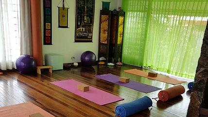 salón de yoga. Centro de Medicina Bioene