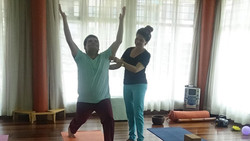 Yoga para la buena postura.