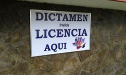 Rótulo Dictamen para Licencia.
