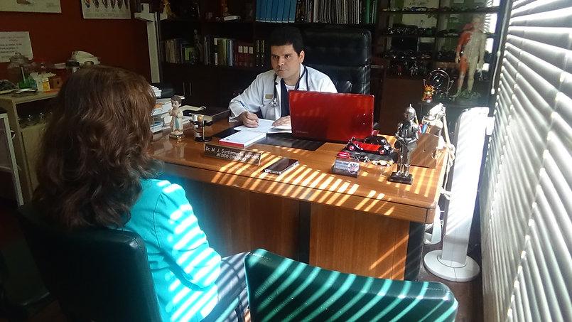 Consulta médica. Centro de Medicina Bioe