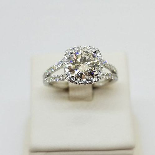 THE 143 DIAMOND ENGAGEMENT RING