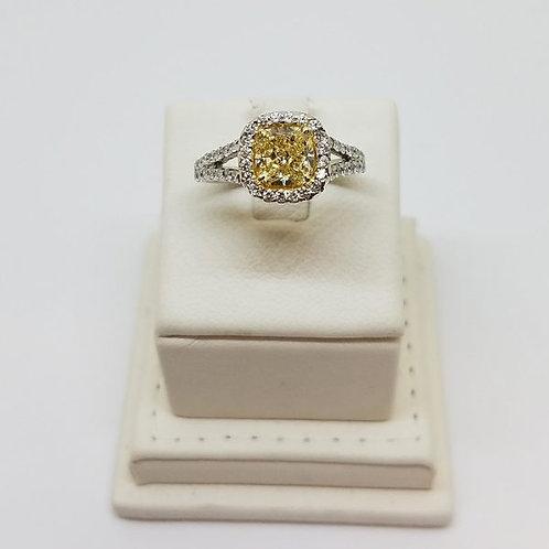 THE YELLOW PHOENIX DIAMOND RING