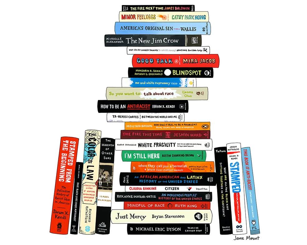 Anti-Racist Bookshelf