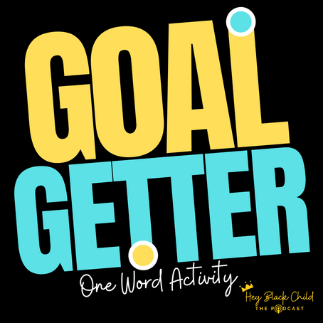One Word Goal Setting