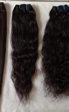 REMY VIRGIN DOUBLE WEFT INDIAN HAIR EXTENSIONS