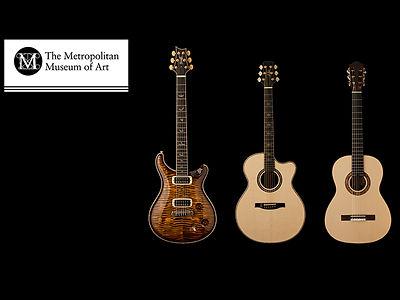 PRS ギター アコースティック メトロポリタン美術館