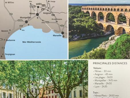 Uzès - ville médiévale et destination des vacances
