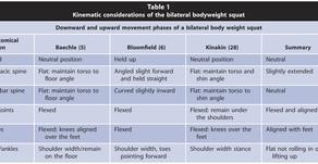 Vücut Ağırlığı İle Yapılan Squat (ENG)