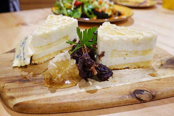 Honey Gorgonzola Cheesecake