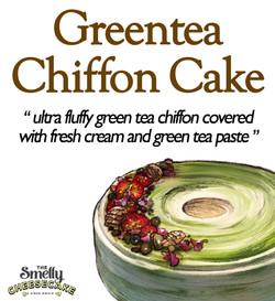 Greentea Chiffon Cake