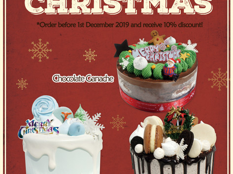 Christmas Cakes are available to order now!