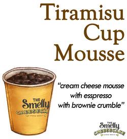 Tiramisu Cup Mousse