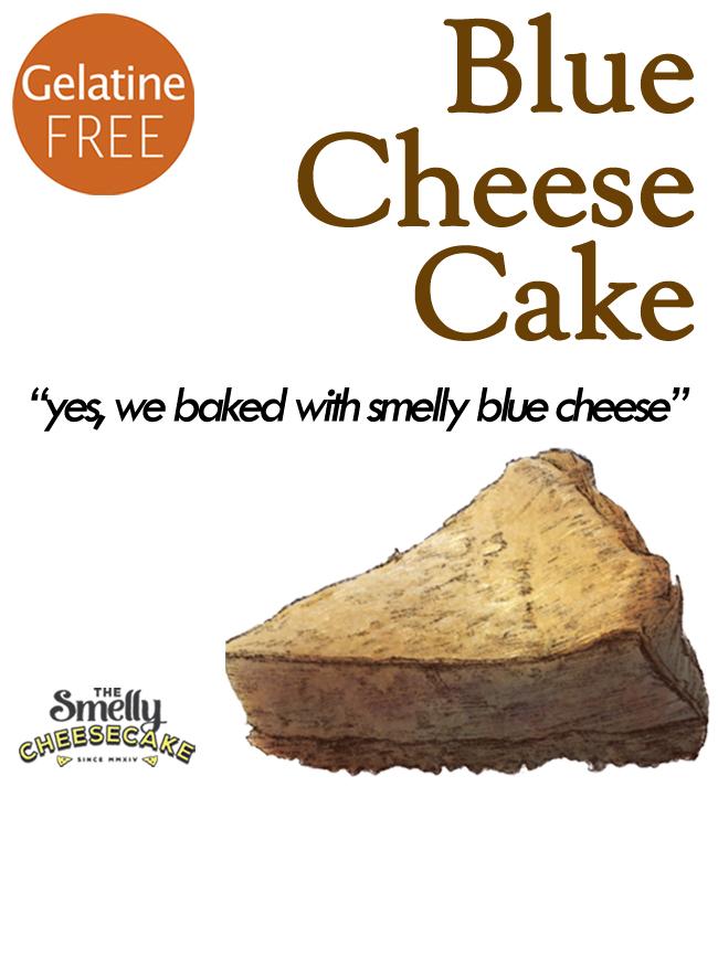 Blue Cheesecake