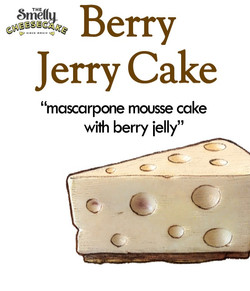 Jerry berry Cake