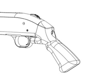 Custom Shotgun Grip
