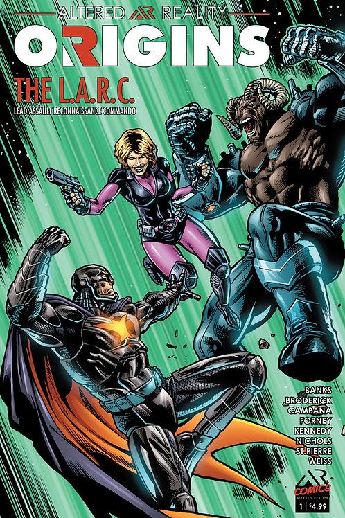 ORIGINS Comic Book By AR Comics