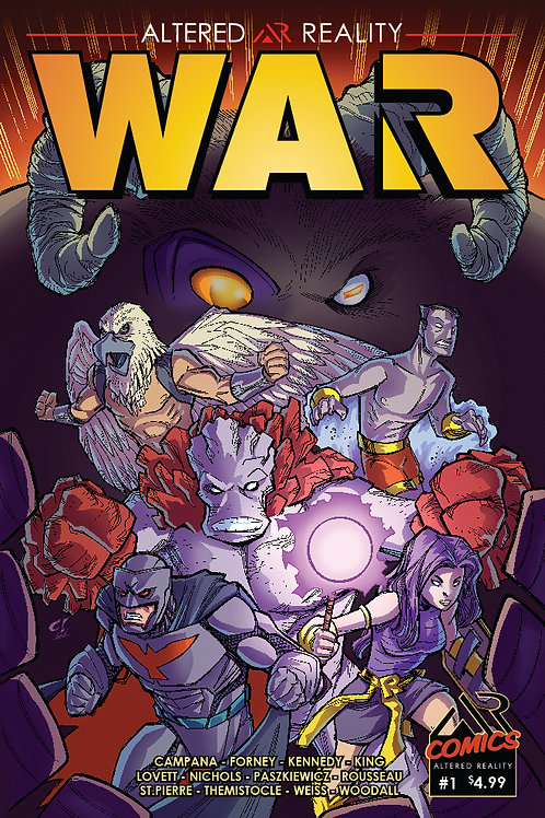 EXCLUSIVES AR WAR ISSUE #1